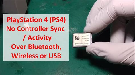 PlayStation 4 PS4 No Controller Sync Activity Over