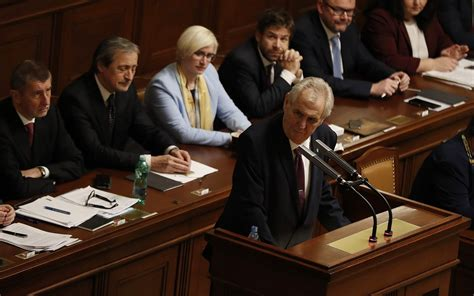 Czech president to face run off after failing to secure