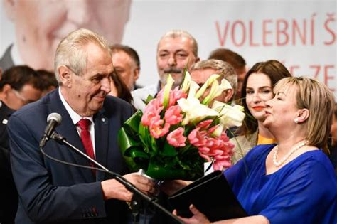 Czech president fends off challenger in narrow victory
