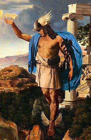 Hermes, messenger of the gods,Patron of thieves & travelers