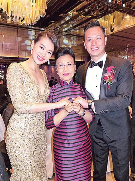 Kevin Cheng and Grace Chan Attend Myolie Wu's Wedding