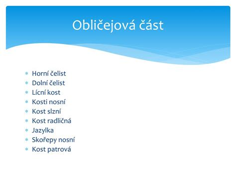 PPT - Lebka PowerPoint Presentation, free download - ID