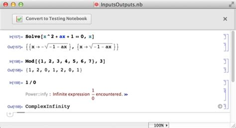 Create Testing Notebooks Automatically: New in Mathematica 10