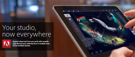 Adobe Photoshop Touch Coming to iPad and Android Tablets