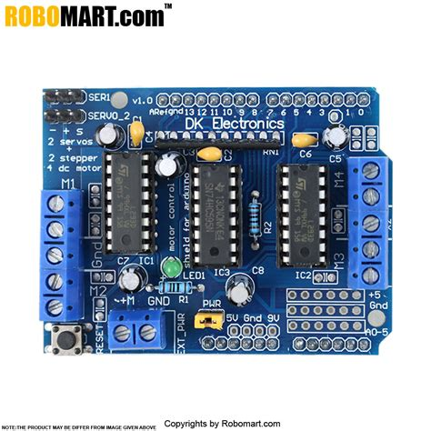 ARDUINO UNO R3 STARTER KIT+L293D MOTOR DRIVE SHIELD WITH