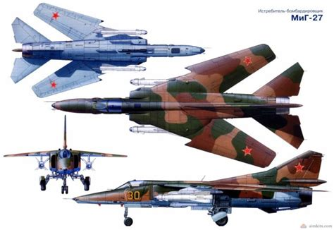 MIG-27 fighter jet russian airplane plane military mig (2