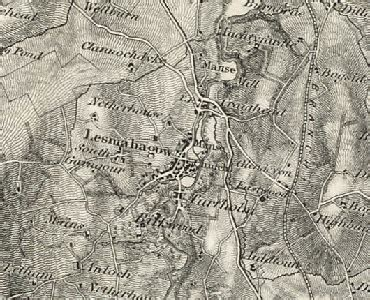 History of Lesmahagow in South Lanarkshire | Map and