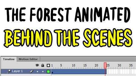 The Forest Animated - Baxtrix animace (Behind the Scenes