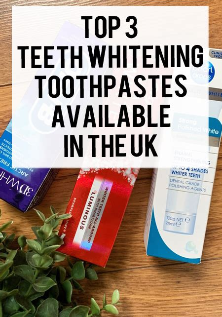 Best Whitening Toothpastes in the UK | xameliax