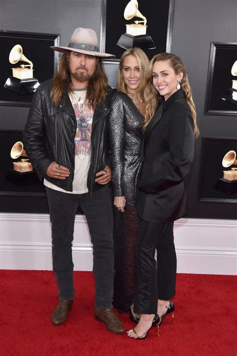 Billy Ray Cyrus is wearing Saint Laurent, styled by Miley