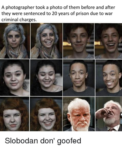 A Photographer Took a Photo of Them Before and After They