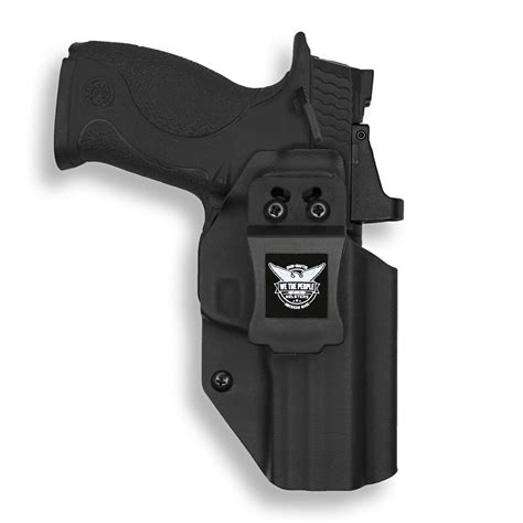 Smith & Wesson M&P 9/40 with Manual Safety Pro RDS Red Dot