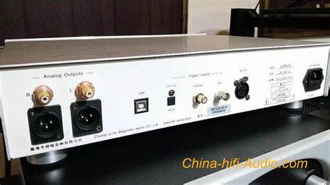 Line Magnetic LM-502CA tube USB DAC XOMS asynchronously