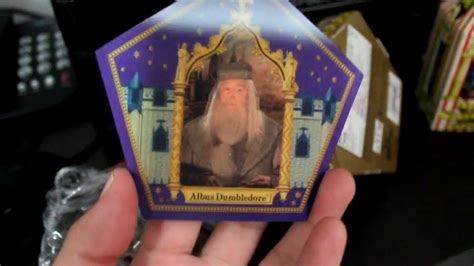 chocolate frog dumbledore's card every flavour beans