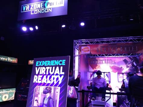 The Virtual Arena: London Gets First VR ZONE Portal – VRFocus