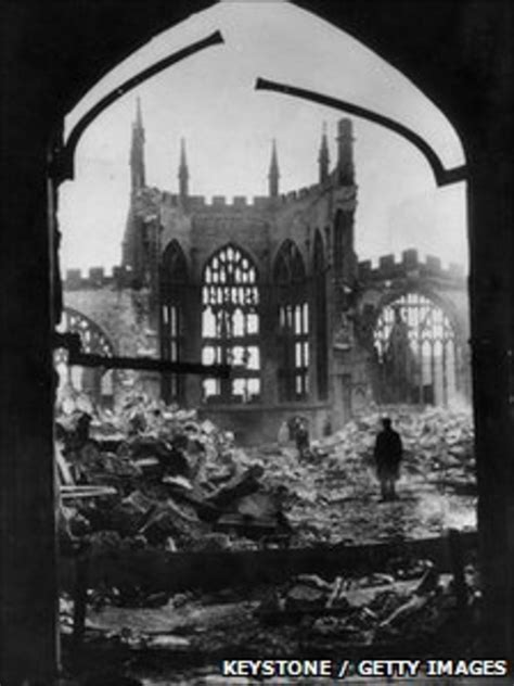 The Coventry Blitz 'conspiracy' - BBC News