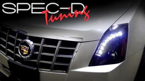 SPECDTUNING INSTALLATION VIDEO: 2008 - 2013 CADILLAC CTS