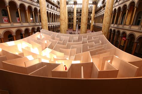 Navigating the BIG Maze at the National Building Museum