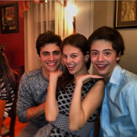 Matt with his girlfriend Esther Kim and the brother of his