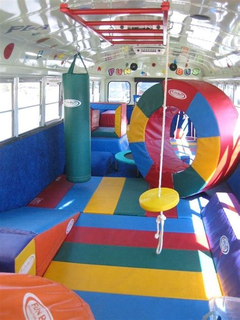 The Movie Bus in 2020 | Kids party bus, Backyard for kids