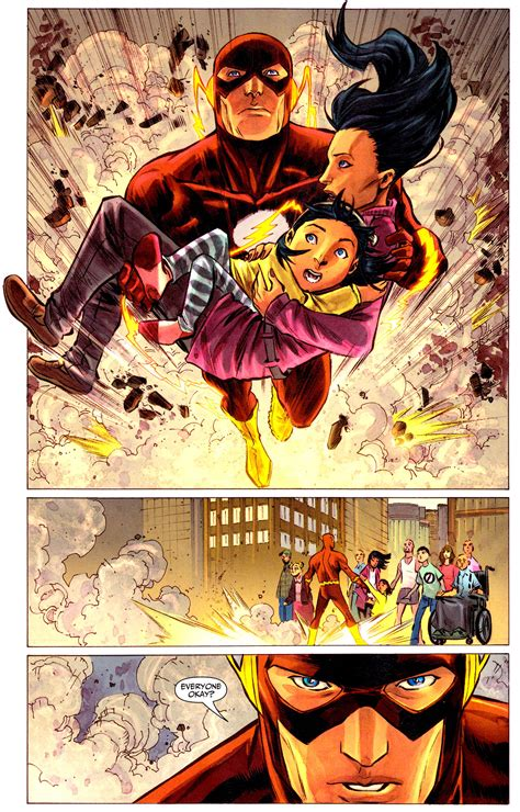 The Flash Rebuilds A Building From Scratch   Comicnewbies