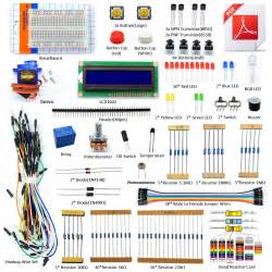 Adeept Project 1602 LCD Starter Kit for Arduino UNO R3