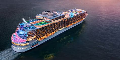 Fifth Oasis Class Ship Wonder of the Seas to Sail from China