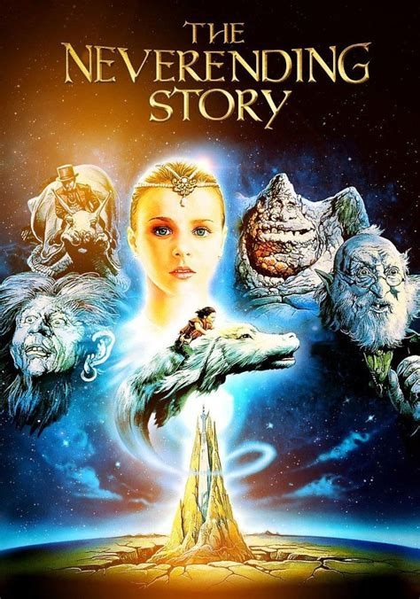 The Neverending Story movie poster - cross stitch PDF
