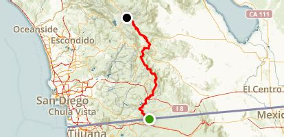 PCT: CA Section A - Campo to Warner Springs - California