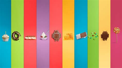 Complete set of Android version wallpapers, now with