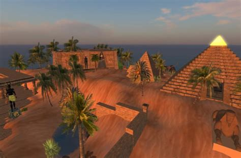 Play free Ancien Egypt Second Life Online games