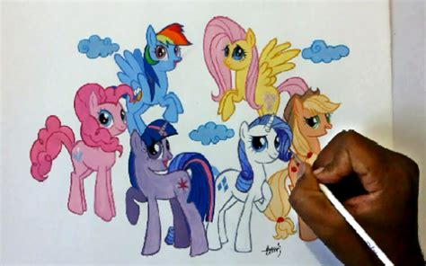 How To Draw My Little Pony Characters? - ProProfs Quiz