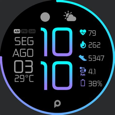 COLOR Fit Watch Face - WatchMaker Watch Faces