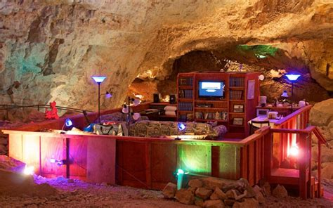 Inside the Grand Canyon's secret underground hotel suite