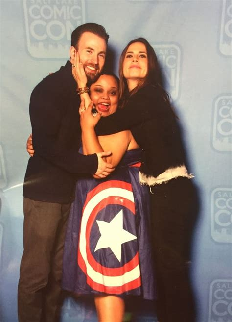 25 Cute Images of Hayley Atwell And Chris Evans That Will