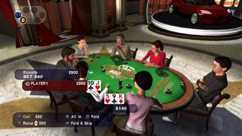 High Stakes on the Vegas Strip: Poker Edition Game | PS3