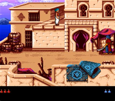 Prince of Persia 2: The Shadow & The Flame (SNES) - online