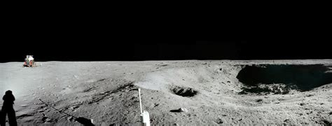 Apollo 11 Little West Crater Panorama | The Planetary Society