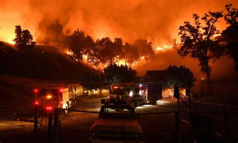 Climate Signals | Mendocino Complex Fire July - August 2018
