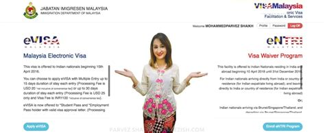 How to Apply for Malaysia eVisa from India