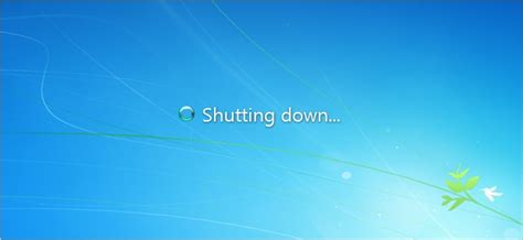 Does Shutting Down Windows from the Command Prompt Cause