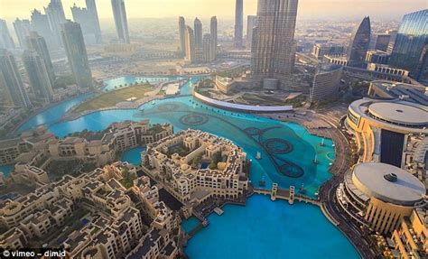 World's most dramatic city as you've never seen it before