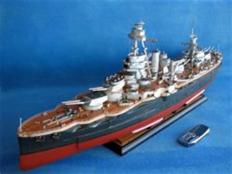 HUGE 60 INCHES IN LENGTH – RC BATTLESHIP TEXAS – READY TO