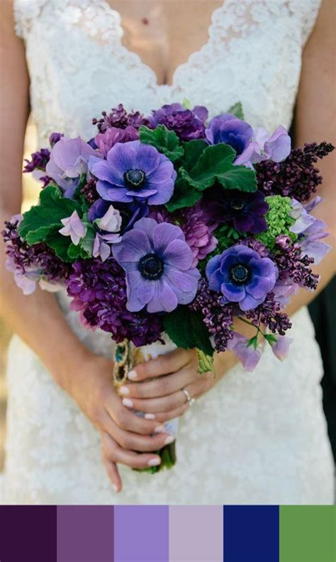 184 Best images about Purple and Blue Wedding Colors on