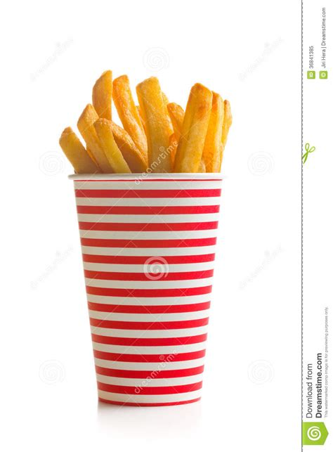French Fries In Cup Royalty Free Stock Photo - Image: 36841385