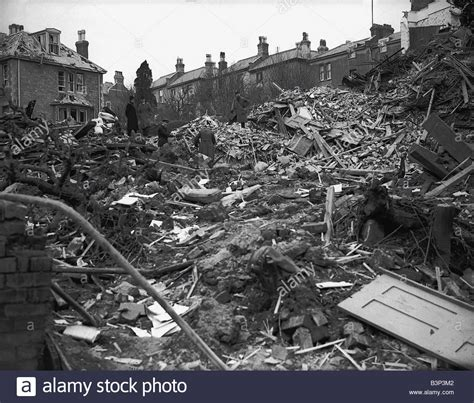 WW2 Air Raids Coventry WW2 Bomb damage in Coventry after