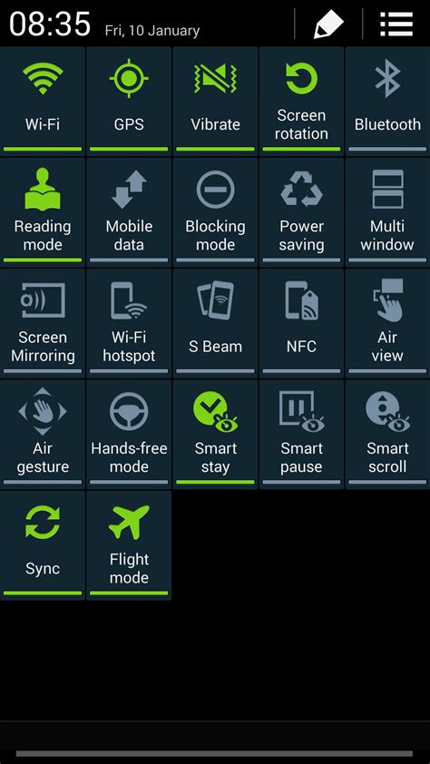 Galaxy S4 KitKat firmware leaks, with white status icons
