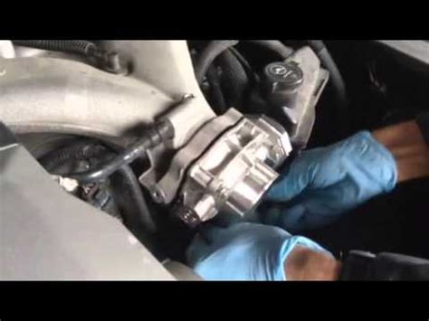 Ben changes a throttle body on a Cadillac sts 2008 - YouTube