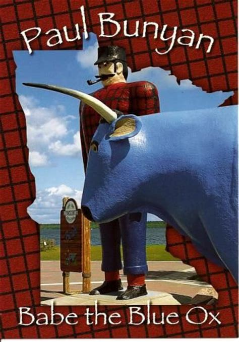 17 Best images about Historical Paul Bunyan and Babe the