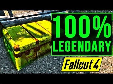 Fallout 4 BEST LEGENDARY Weapons Farming Location Guide